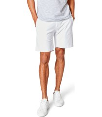 men's good man brand flex pro jersey tulum trunks, size large - white