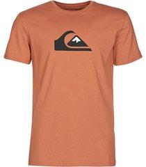t-shirt korte mouw quiksilver comp logo