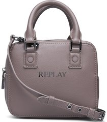 bag bags top handle bags beige replay