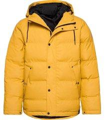 baffle jacket fodrad jacka gul tretorn