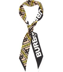 belt ribbon silk scarf