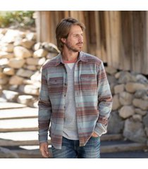 sundance catalog men's bowie shirt in ice small