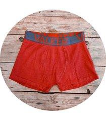 boxer rojo valker liso
