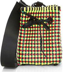 medium square bucket bag