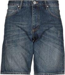 versace jeans denim bermudas