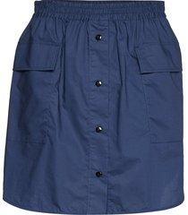 shanelle knälång kjol blå baum und pferdgarten
