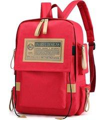 mochilas escolares vintage oxford laptop backpack college school mochila