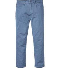 pantaloni elasticizzati classic fit straight (blu) - bpc bonprix collection