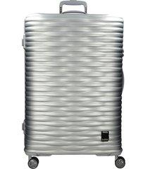 maleta super light large mercury plateado bubba bags