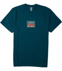 men's crayon wave t-shirt