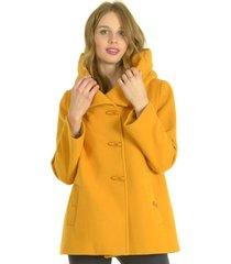 abrigo corto mostaza bou's