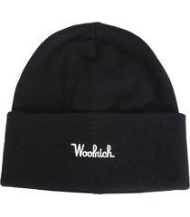 woolrich wool blend beanie