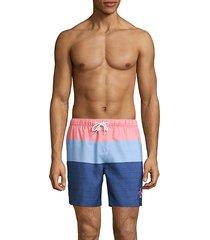 colorblock board shorts