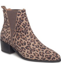 karen shoes boots ankle boots ankle boot - heel beige pavement