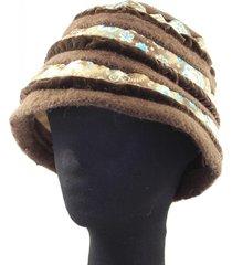sombrero marrón almacén de paris