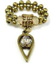 anel armazém rr bijoux ouro velho gota