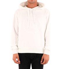 dolce & gabbana dg logo hoodie white
