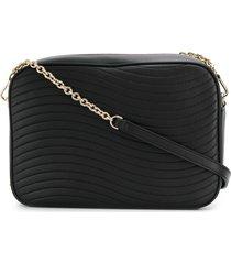 furla swing shoulder bag - black