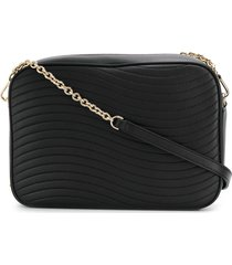furla swing shoulder bag - black