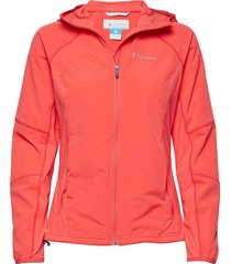 sweet as™ softshell hoodie sommarjacka tunn jacka orange columbia