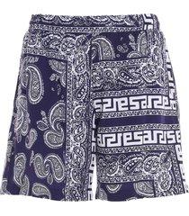 aries bandana print swimshorts