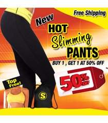 hot slimming pants + top free , hot pants, zaggora, shapers, leggings, thermo