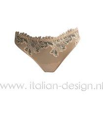 ambra lingerie slips titanium string huid 1430