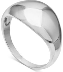 giani bernini polished dome ring in sterling silver, created for macy's