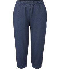 pantaloni capri effetto jeans (blu) - john baner jeanswear