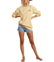 billabong x salty blonde women's after sunset sweatshirt