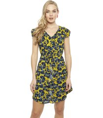 vestido ash amarillo - calce regular