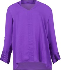 marc cain blouse paars