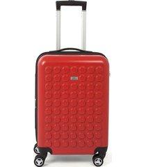maleta de viaje mediana rígida con cuatro ruedas giratorias 95945