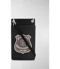 vetements police badge crossbody bag