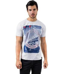 camiseta aes 1975 bridge masculina