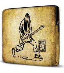 capa para notebook rock 15 polegadas - amarelo - dafiti