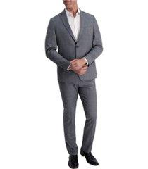 louis raphael stretch windowpane slim fit suit separate jacket
