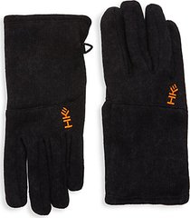slip-on fleece gloves
