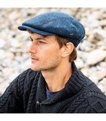 men's irish kerry cap blue large