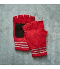 sundance catalog women's garrett timeline gloves in red