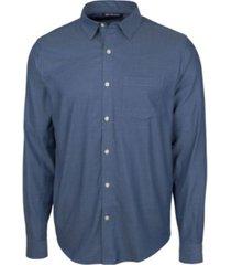 cutter & buck men's windward twill long sleeve shirt