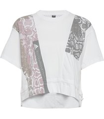 graphic tee blouses short-sleeved vit adidas by stella mccartney