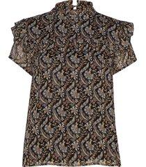 blouse blouse mouwloos multi/patroon sofie schnoor