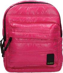 mochila classic mini pink power fucsia bubba bags
