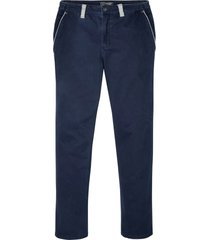 pantaloni chino elasticizzati regular fit (blu) - bpc selection