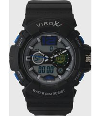 reloj  virox azul
