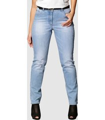 jeans carla slim fit angel of style lichtblauw