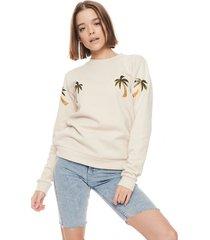 bluza klasyczna palmy