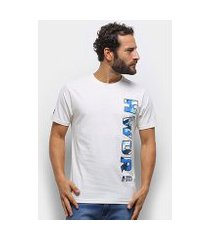 camiseta hd neon big logo masculina