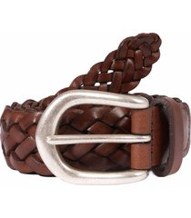 anderson's belts woven leather belt - brown a3152-c1 af3578